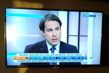 Mike on Canada AM TV