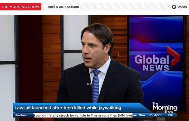 Mike on Global News